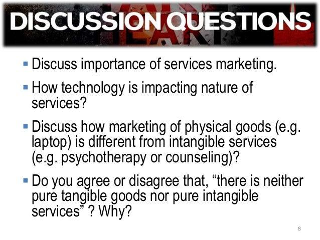 Importance of service marketing essay