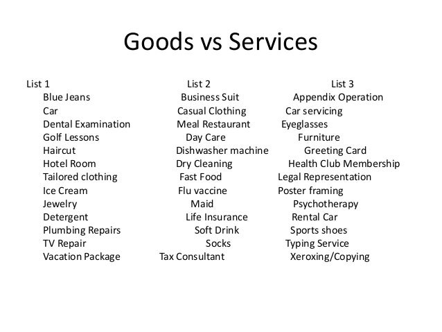 Introduction to services mktg