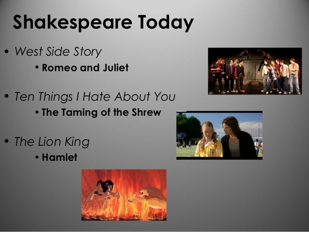 compare and contrast taming of the shrew and 10 things i hate about you I'm writing a paper on the similarities and differences between the taming of the shrew and 10 things i hate about you anyone have a good and divide the two facets into 5 on the left you may have 'the taming of the shrew' compare and contrast characters from the taming of.