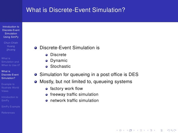 Introduction to Discrete-Event Simulation Using SimPy