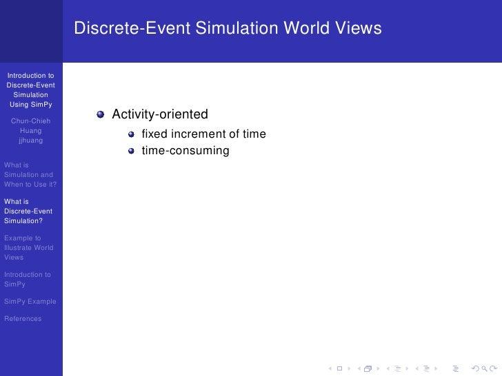 Introduction to Discrete-Event Simulation Using SimPy