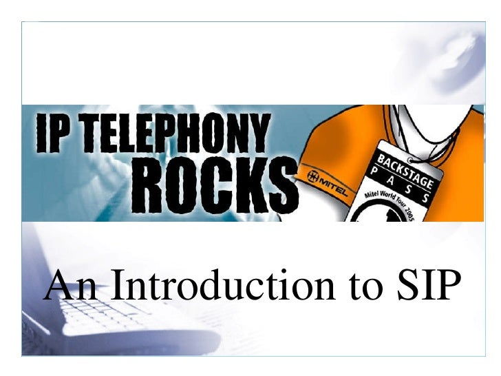 introduction of sip Introduction to sip ip telephony systems: technology basics, services, economics, and installation.