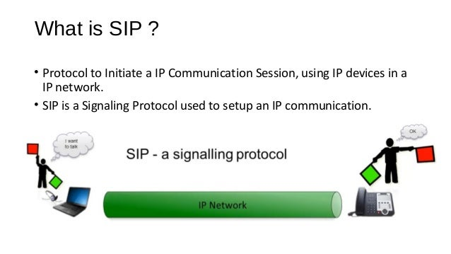 What's SIP? Cont… • SIP: Session Initiation Protocol is an application-layer control protocol used to establish, modify an...