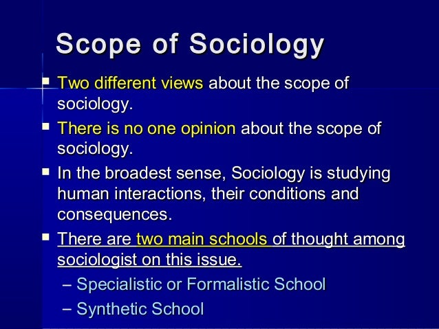 introduction to sociology Chapter 01 - history and introduction this new science of societies: sociology sociology is a relatively new discipline in comparison to chemistry, math, biology.