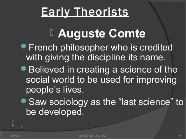 auguste comte and contribution to sociology essay Auguste comte and herbert spencer - sociology theorists  the tools you need to write a quality essay or term paper  august comte is regarded as thefather of .