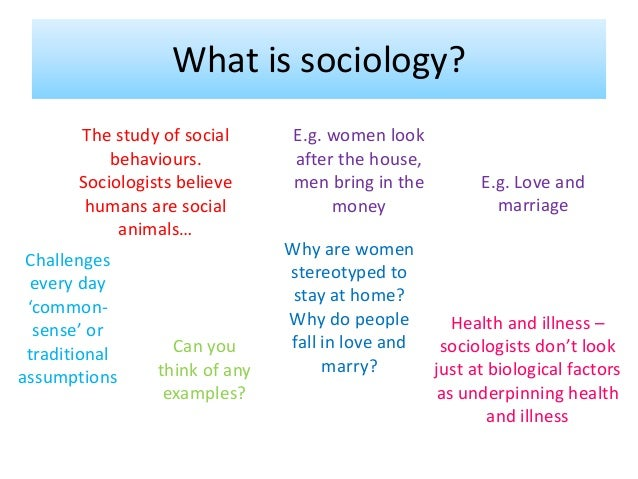 an analysis of three key concepts of sociology applied Chapter-by-chapter answer key 3 d all three statements reflect ways in which the social sciences investigating social problems are practicing applied sociology.