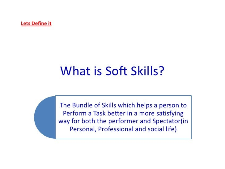 What Is Soft Skills  What Are Soft Skills