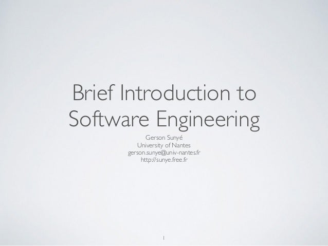 introduction to software engineering Learn how to apply engineering principles, such as agile, to build a full-stack software system.