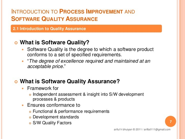 quality assurance and quality improvement processes Mic quality assurance & continuous quality improvement policy 2 the colleges quality processes are governed by a commitment to collegiality through rigorous peer review, collaboration and.
