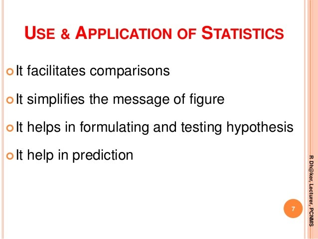 Introduction to statistics   ppt rahul