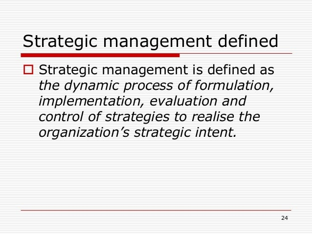 strategy formulation a strategic alternatives b alternative evaluation c alternative choice This paper reviews the issues surrounding the conceptualisations of strategy, strategic planning and strategy formulation, and discusses the determinants and explores the obstacles to the implementation of strategic decisions in manufacturing firms.