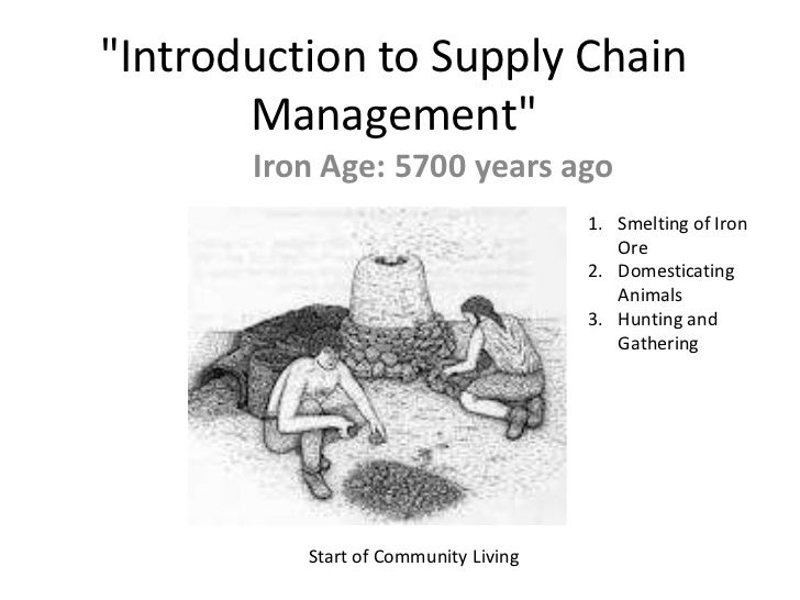 Introduction to #supplychain management