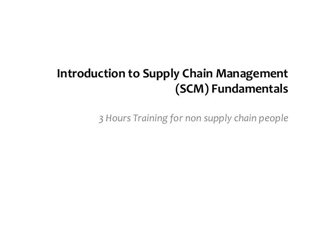 introduction to lean supply chain management The technology studies: lean manufacturing and supply chain management option is offered system- wide it includes coursework in lean manufacturing that focuses on the current continuous process of improvement of methodologies in use today within competitive manufacturing environments.
