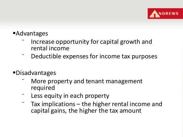 advantages of income tax