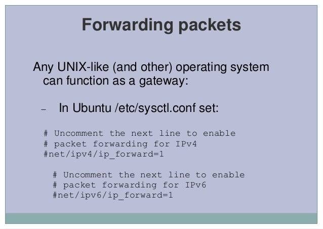 an introduction to the linux networking capabilities Networking capabilities when sabrina began her career as an engineer, she needed an os with networking capabilities able to process vast amounts of data for this reason, the os she used was an upgrade to windows for work groups.