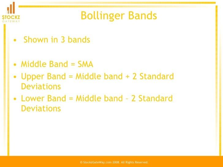 Bollinger bands standard deviation calculation