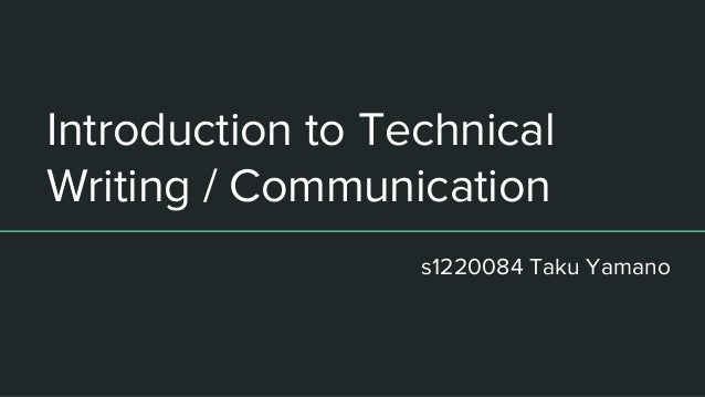 Professional and Technical Writing/Business Communications/E-Mail