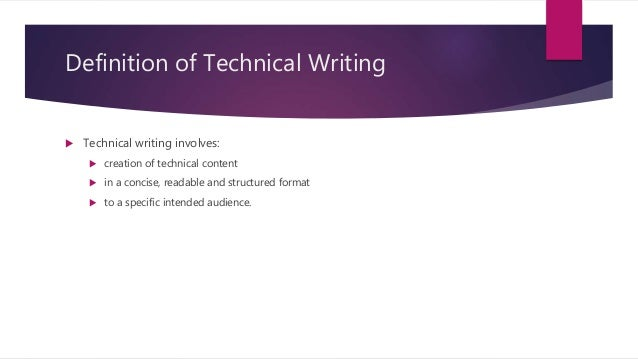 technical writing thesis statement Guidelines for writing a thesis document for a graduate degree in science or engineering.