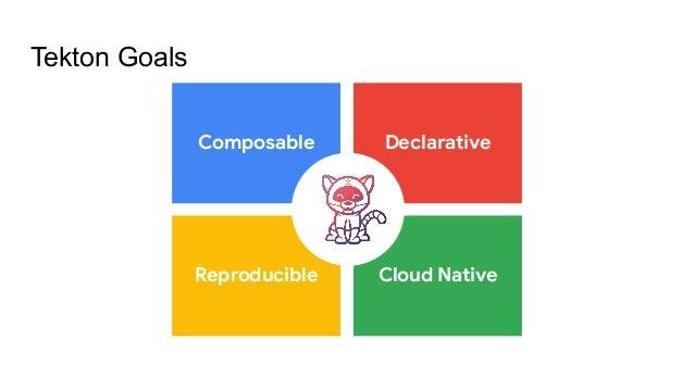 Tekton Goals Composable Declarative Reproducible Cloud Native