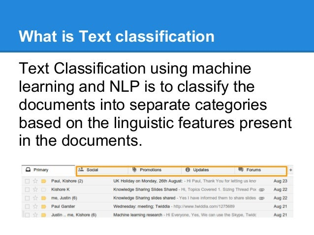 Introduction to text classification using scala