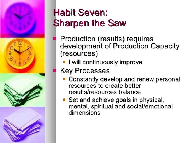 an introduction to the seven habits of highly effective people The seven habits of highly effective people, written by stephen covey, is a great book on self development and personal improvement in this video, you will get a complete understanding of all the.