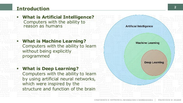 Introduction to the Artificial Intelligence and Computer Vision revolution Slide 2