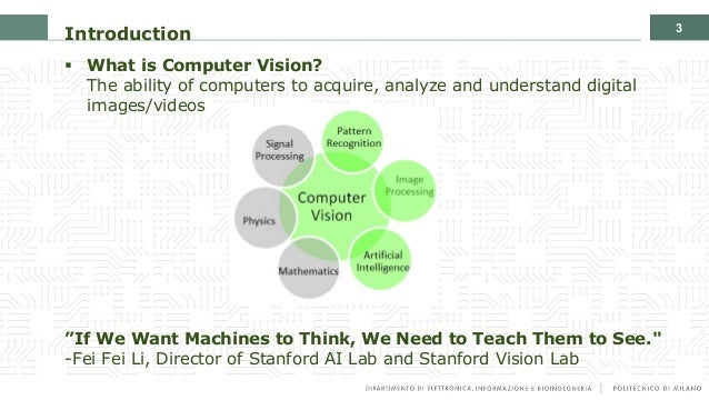 Introduction to the Artificial Intelligence and Computer Vision revolution Slide 3