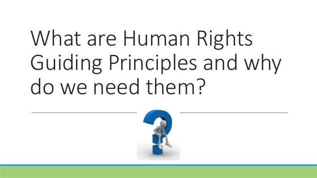 Human Rights Guiding Principles on State obligations regarding private schools: an introduction Slide 3