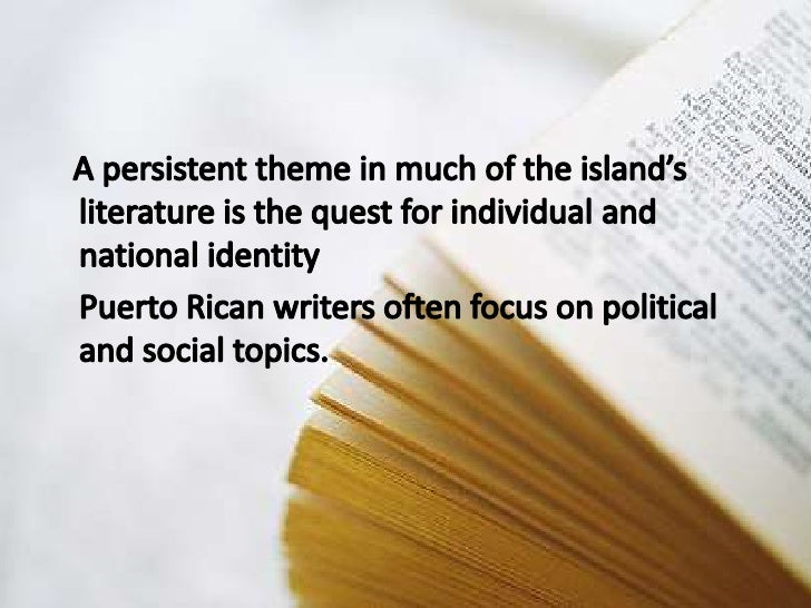 an introduction to the country of puerto rico It appears that the legacy of colonialism has not been completely exorcised from caribbean society puerto rico has been under the rule of the united states (us) since 1898, and today, puerto ricans are rising up against what many consider a blatant attempt at neo-colonialism and furtherance of systemic.