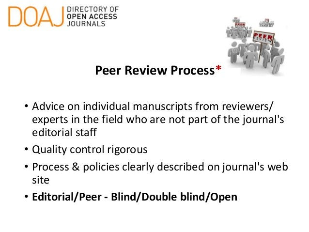 Instructions for Authors* • Detailed style guide • Description of quality control process (review) • Copyright information...