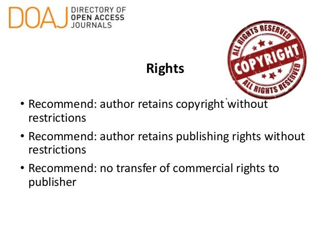 Content Licensing • Conditions for use • Creative Commons License or other • Clearly described on web site • Licensing ter...