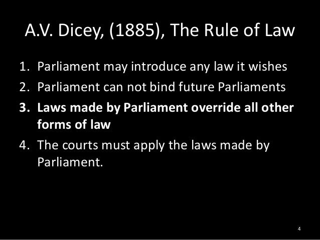 av diceys definition of parliamentary sovereignty Av diceys definition of parliamentary av diceys traditional definition of parliamentary sovereignty cast challenge to parliamentary supremacy because at any time.
