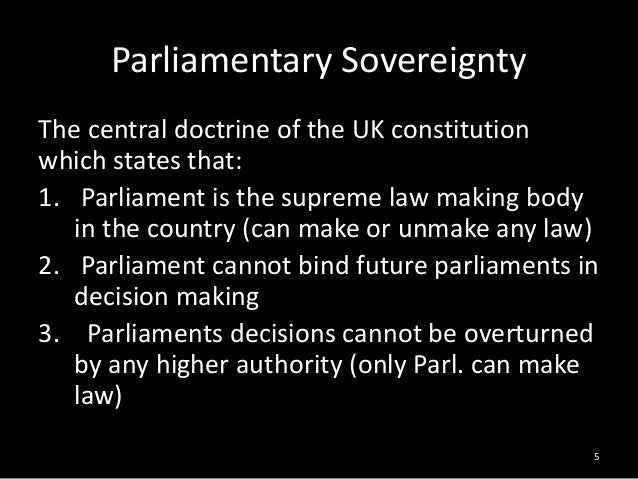 An introduction to sovereignty of a country