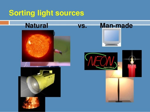 Natural And Artificial Sources Of Water
