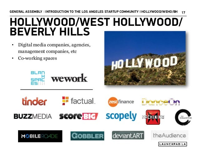 Introduction to the Los Angeles Startup Community Slide 17