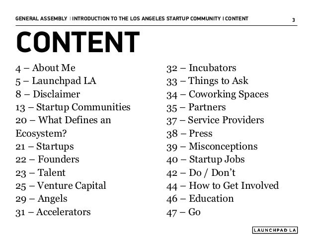 Introduction to the Los Angeles Startup Community Slide 3