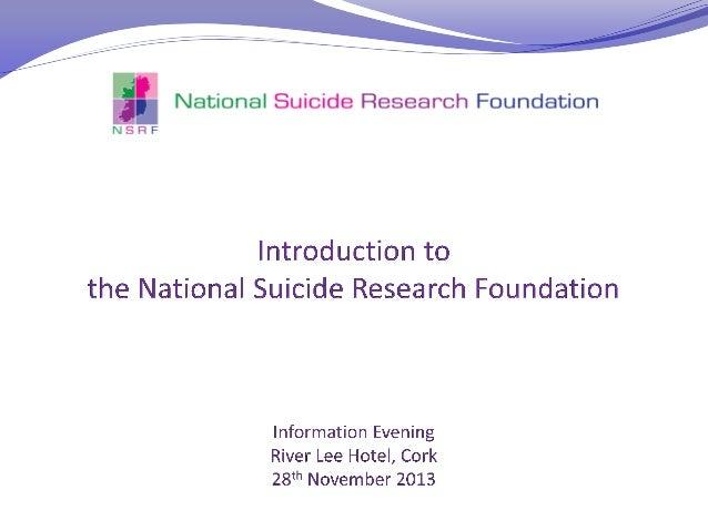 Suicide Introduction
