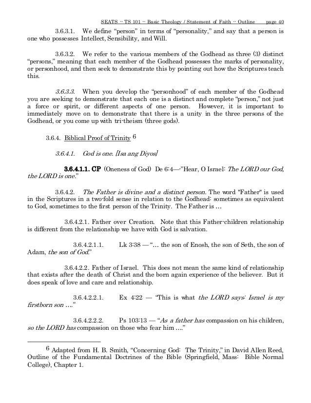 Introduction to theology may tagalog