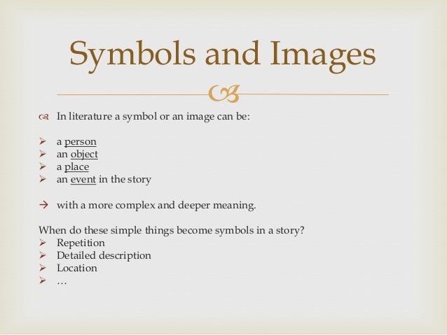 Symbolism In Short Stories Examples Choice Image Symbol Text Art