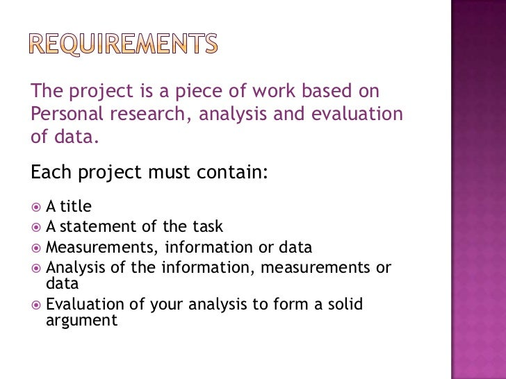 statistic project See below for project handouts p roject overview: after studying graphs, analyzing and measuring data, you will apply your knowledge to conduct your very own research study.