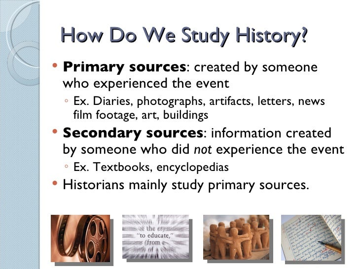 An introduction to the study of history in america