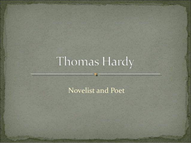 an introduction to the literature by thomas hardy Ecocriticism theory in literature: introduction & analysis  for a simple instance, suppose the novels of thomas hardy, under the greenwood tree,.