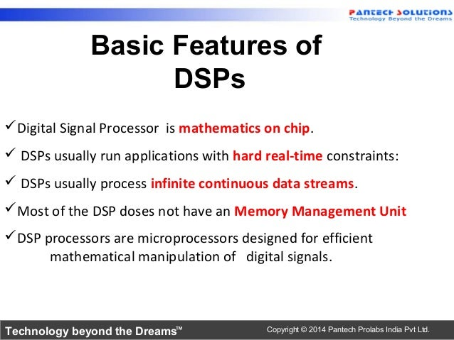 Introduction to tms320c6745 dsp