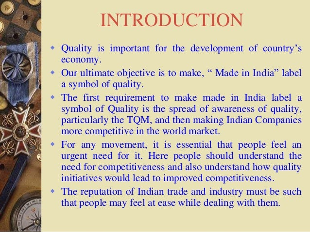 Detailed Introduction to Total Quality Management
