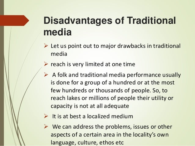 traditional media Anyone who has spent a significant amount of time in the advertising industry in recent years is well aware of the struggle call it what you will — old vs young, traditional vs digital.