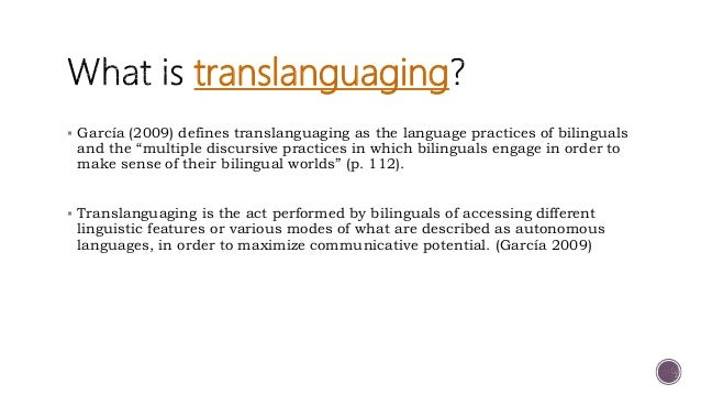 """ Mazak, Rivera and Soto (2016) flexible bilingual practices in the classroom allow for learners to """"emerge as bilinguals ..."""