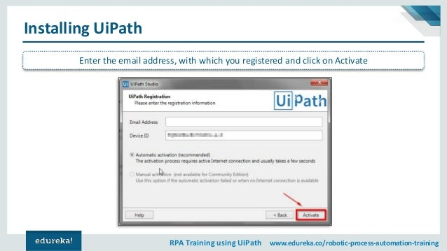 Introduction To UiPath | RPA Tutorial For Beginners | RPA