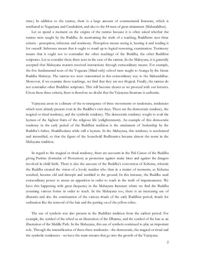 Introduction to vajrayana Slide 2
