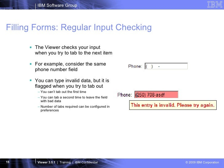 Introduction To IBM Lotus Forms Viewer
