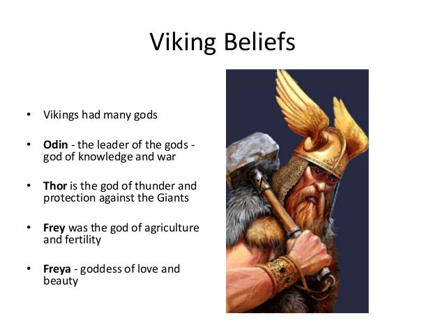 Introduction to vikings